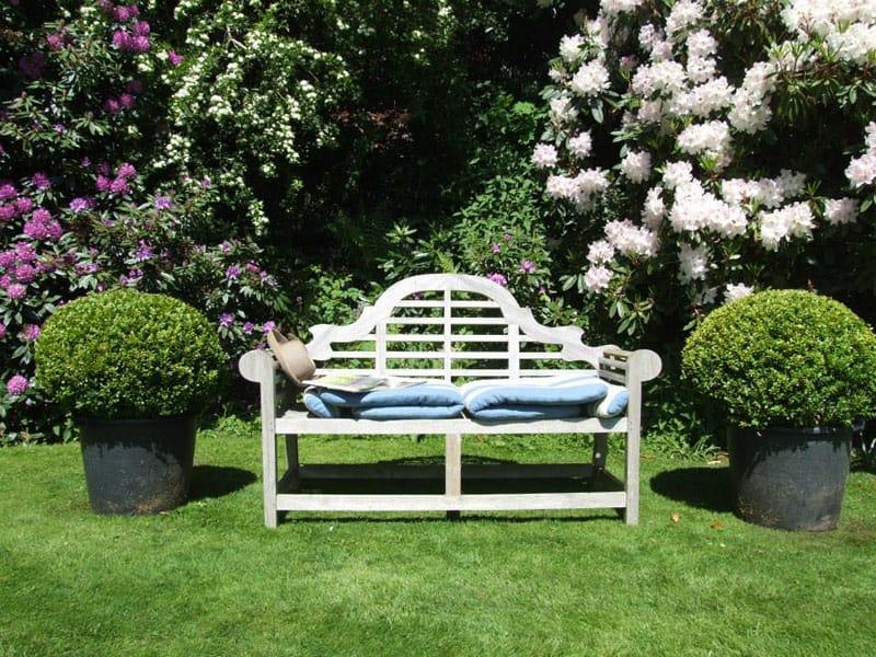 Gardens for wedding