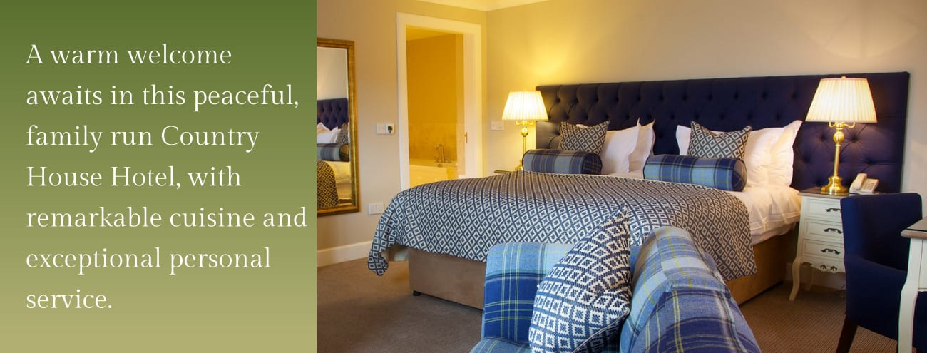 Luxury Rooms and Accommodation in Perthshire