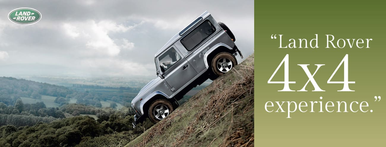 4 x4 Landrover experience